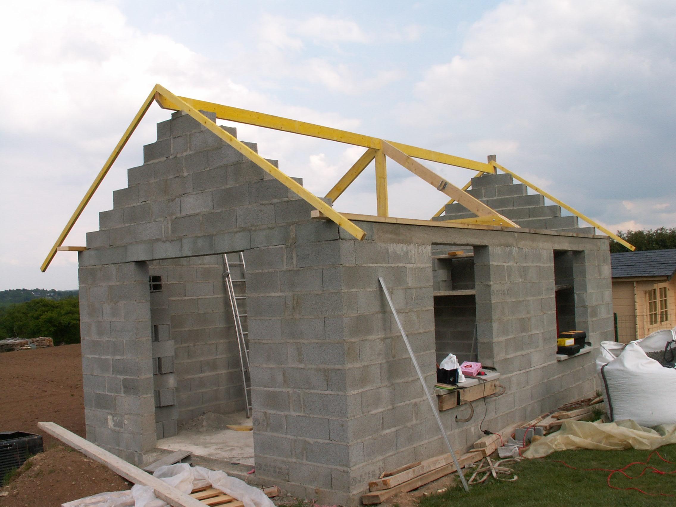 La maison for Monter sa maison en bois